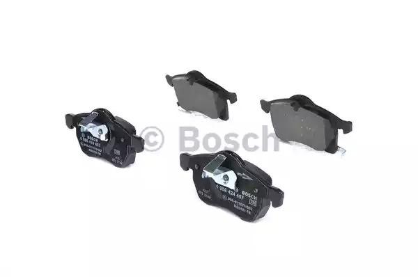 Комплект тормозных колодок BOSCH 0 986 424 457 (BP226, E1 90R - 011075/802, 23 057, 8252D114)