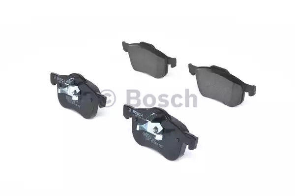 Комплект тормозных колодок BOSCH 0 986 424 540 (BP291, E1 90R-011199/146, 23 073, 8374D125; 7664D794)