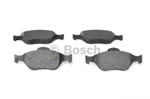 Комплект тормозных колодок BOSCH 0 986 424 558 (BP306, E1 90R - 011075/806, 23 604)