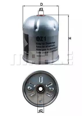 Фильтр KNECHT OZ 1D (79606500)