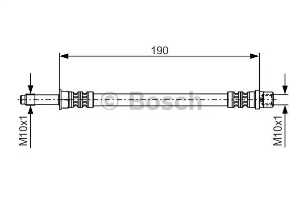 Шлангопровод BOSCH 1 987 476 310 (BH889)