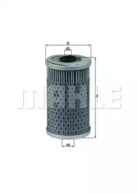 Фильтр KNECHT OX 34D (77050230)
