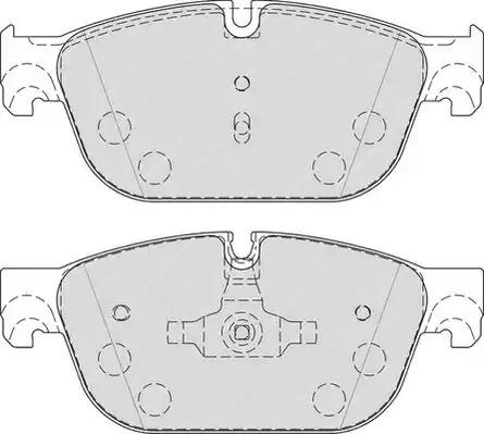 Комплект тормозных колодок FERODO FDB4313 (25069, 25070)