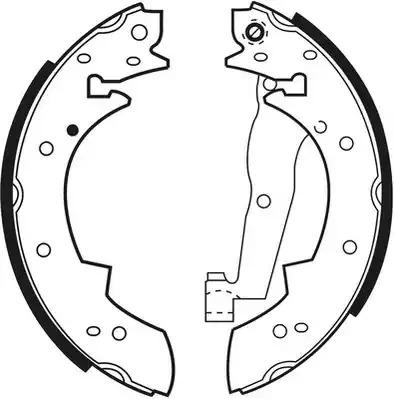 Комлект тормозных накладок FERODO FSB173 (FSB173R)