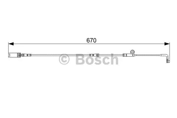 Контакт BOSCH 1 987 473 002 (AP803)