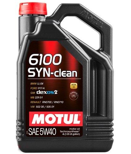 MOTUL 6100 Syn-clean SAE 5W-40 4 л