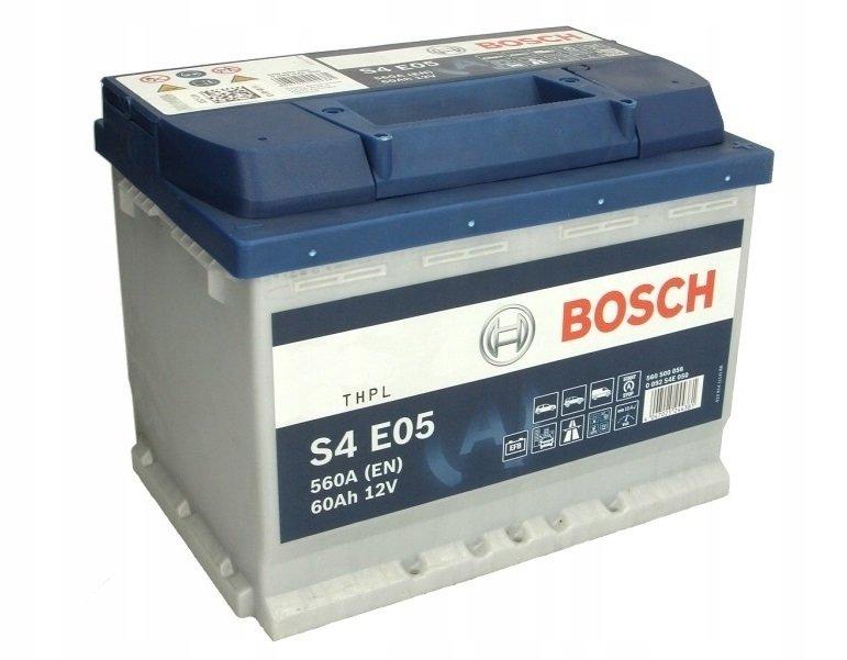 Аккумулятор Bosch S4 0 092 S4E 050 0 092 S4E 050