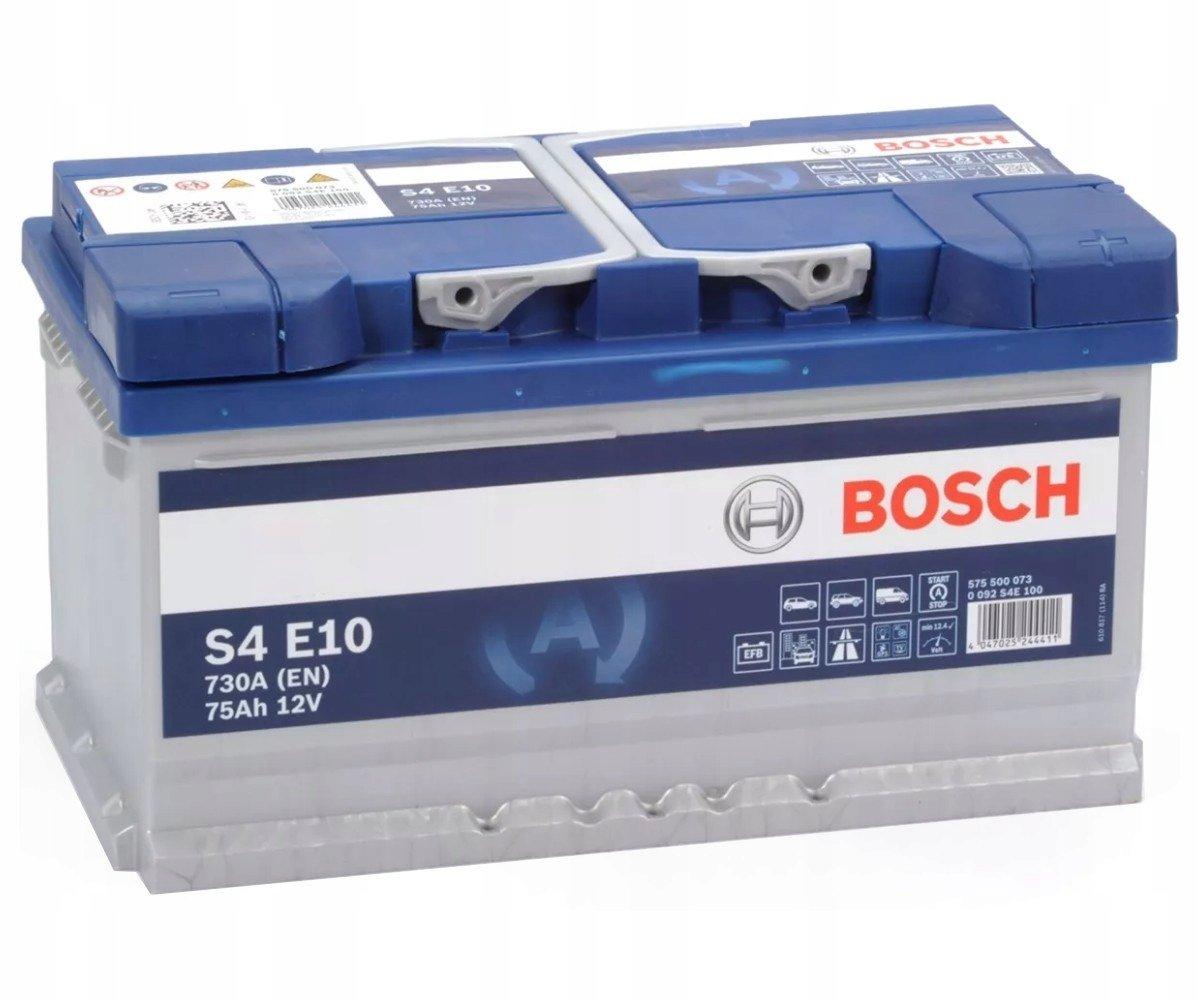 Аккумулятор Bosch S4 EFB 75 Ah 0 092 S4E 100 0 092 S4E 100