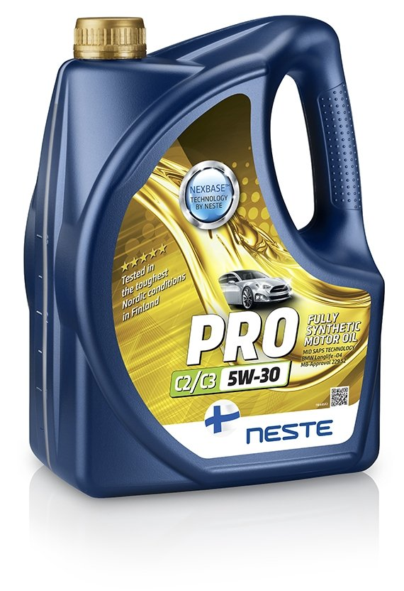 Neste Pro C2/C3 5W-30 4 л