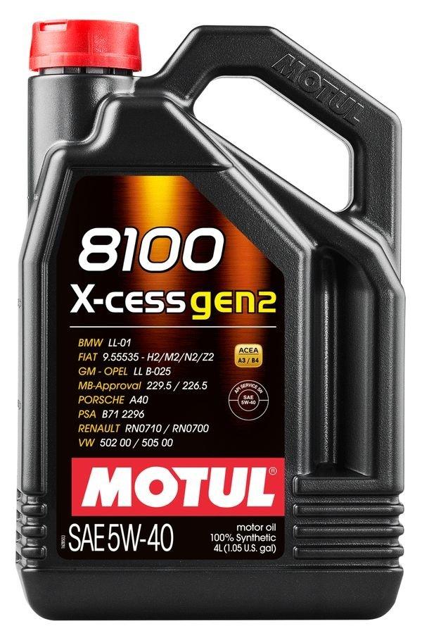 Motul 8100 X-Cess GEN2 5w-40