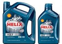 Shell Helix HX7 5w-40 4 л