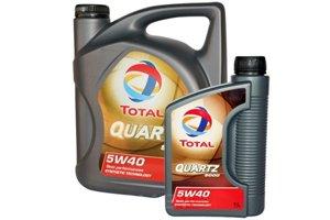Total Quartz 9000 5w-40 4 л