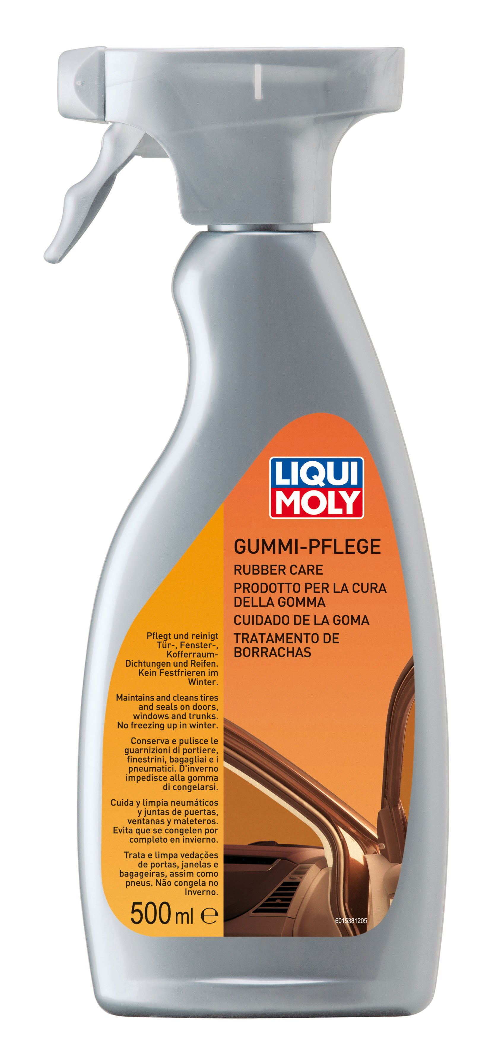 Gummi-Pflege