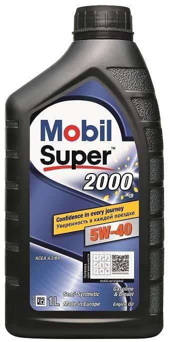 Mobil Super 2000 X3 5W-40