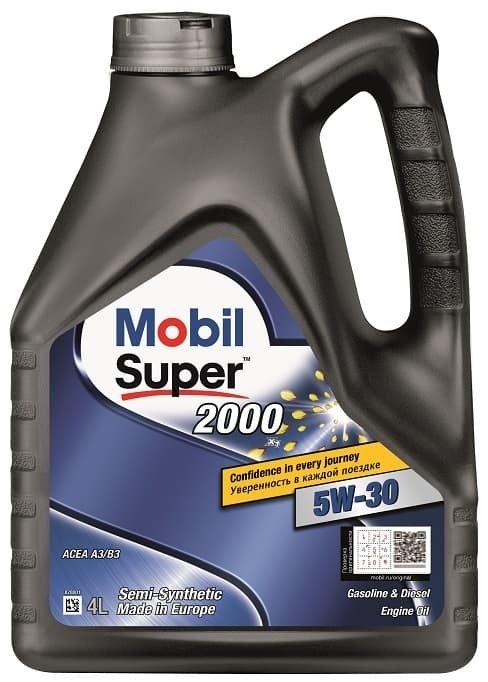 Mobil Super 2000 X1 5W-30 4 л