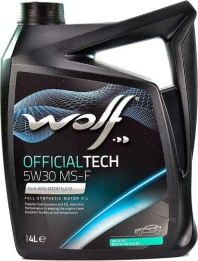 Wolf OFFICIALTECH 5W-30 MS-F 4 л