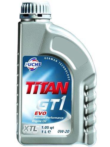 Fuchs Titan GT1 EVO 0w-20 4 л