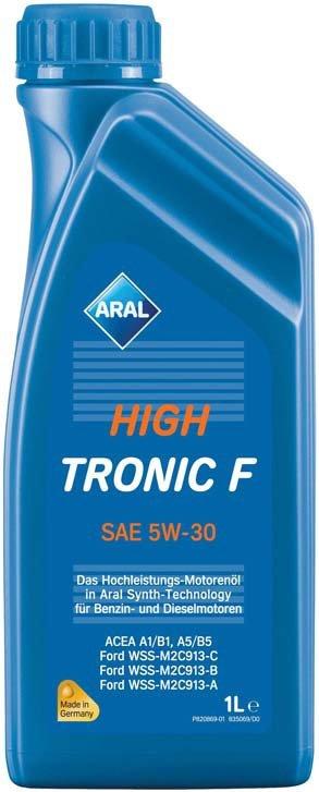 Aral HighTronic F SAE 5w-30 4 л