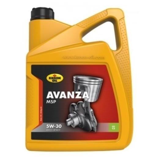 KROON OIL  AVANZA MSP 5W-30