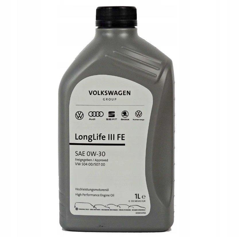 VW AUDI Longlife III 0W-30-5л 5л