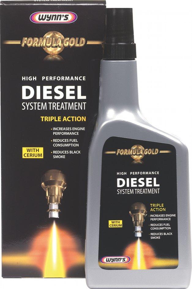 Wynns Formula Gold Fuel System Treatment Diesel 500 мл