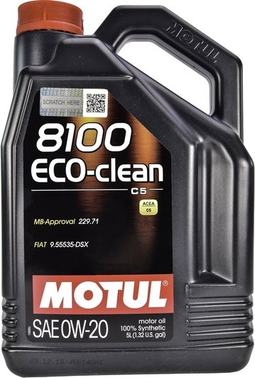 Motul 8100 Eco-Clean 0w-20