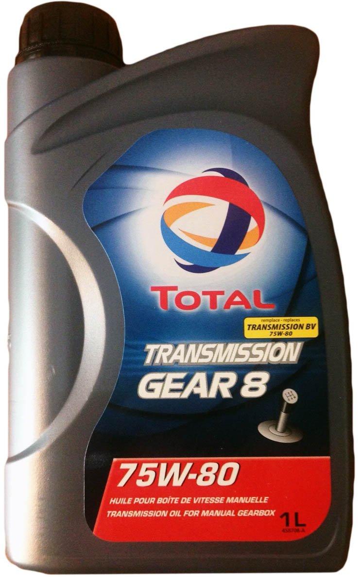 Total Transmission GEAR 8 75w-80 1 л