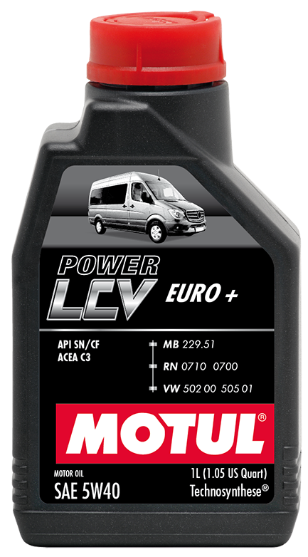 Motul Power LCV Euro+ 5w-40 5 л