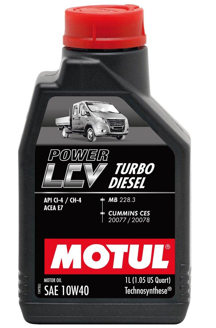 Motul LCV Turbo Diesel 10w-40 5 л