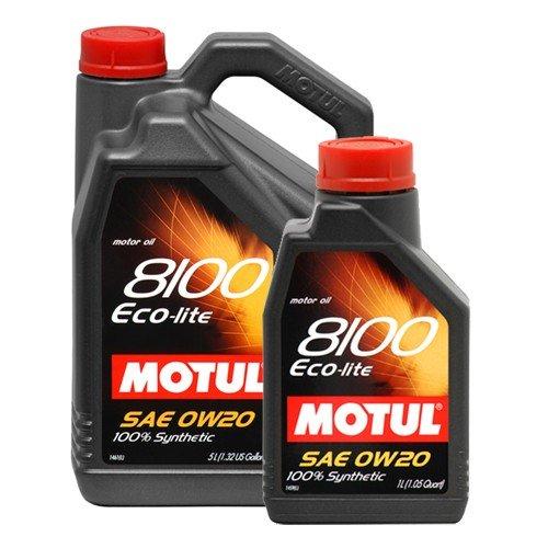 Motul 8100 Eco-Lite 0w-20 SN 4 л