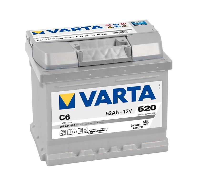 Varta Silver Dynamic 552401052