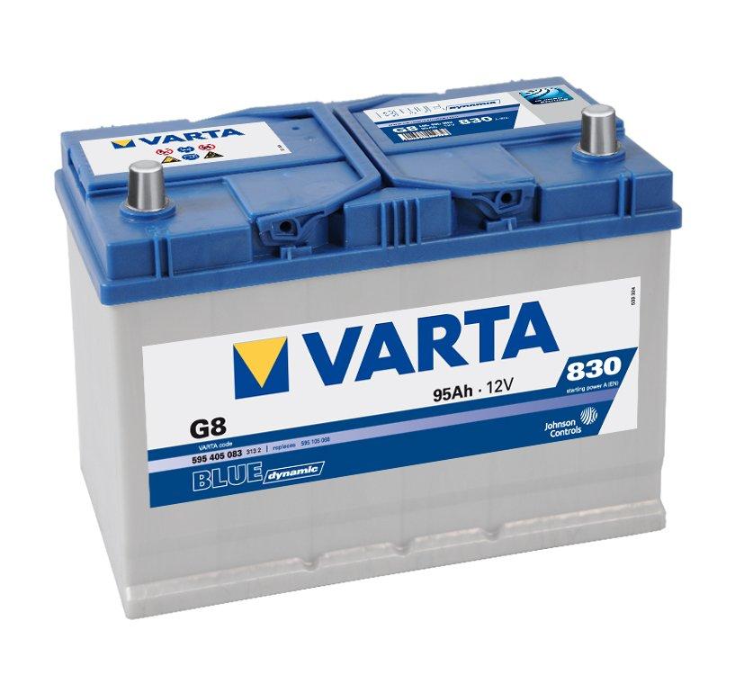 Varta Blue Dynamic 595405083