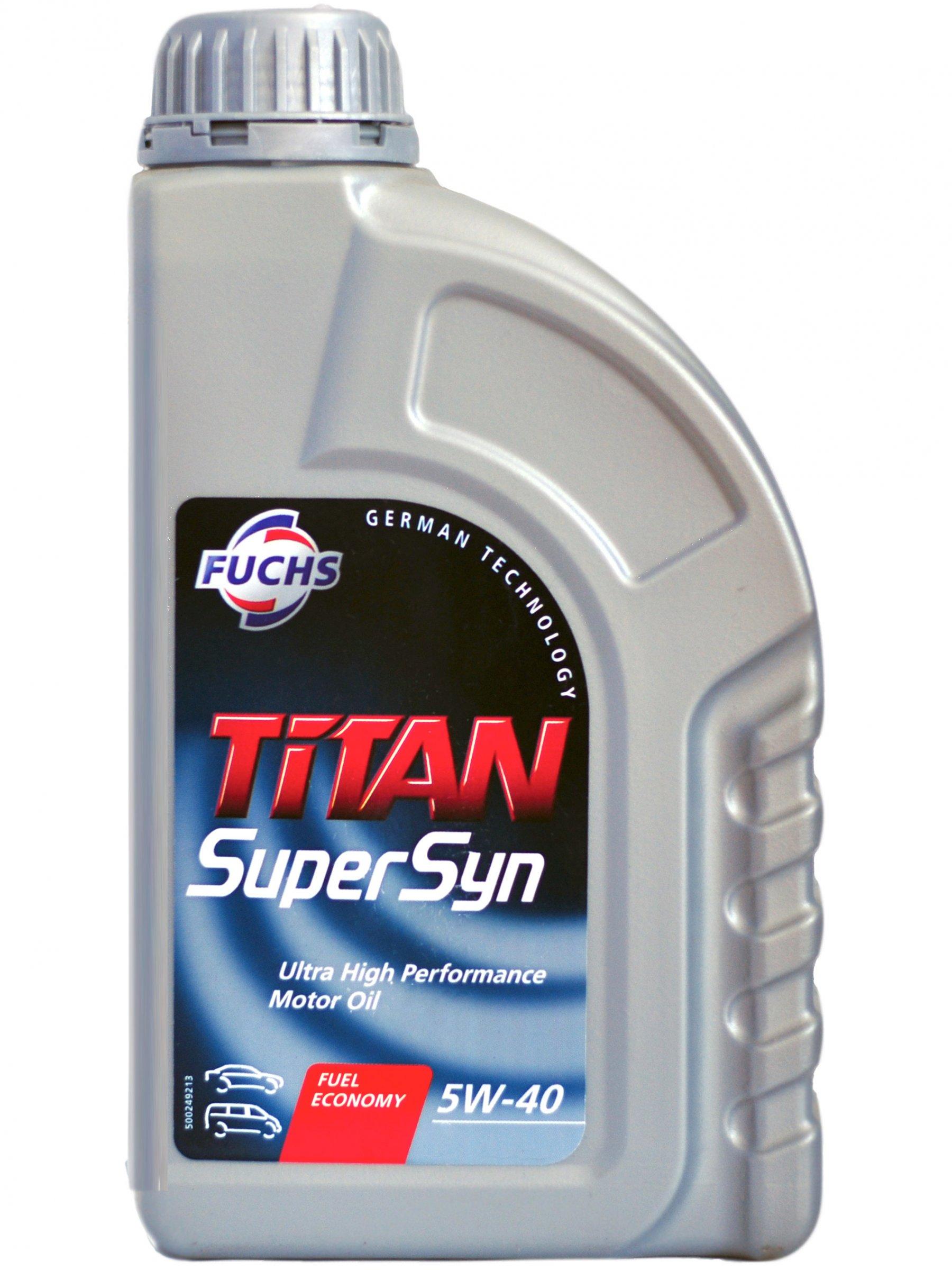 Fuchs Titan SUPERSYN 5w-40