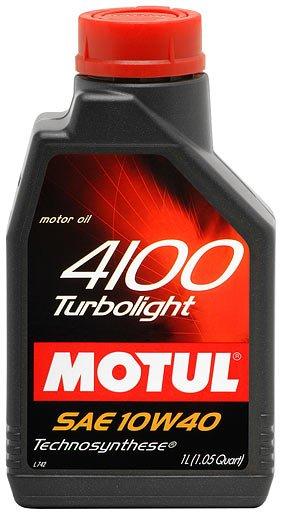 Motul 4100 Turbolight 10w-40 4 л