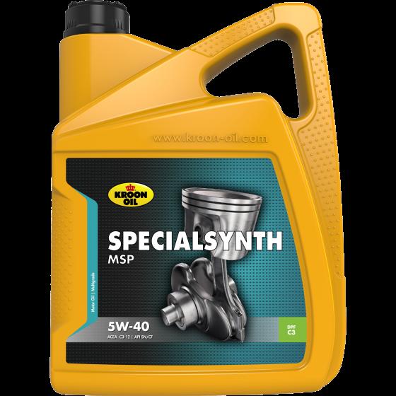 KROON OIL SPECIALSYNTH MSP 5W-40-5 л 5 л