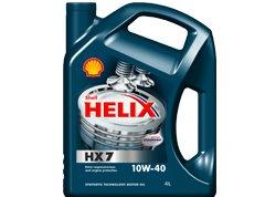 Shell Helix HX7 10w-40 4 л