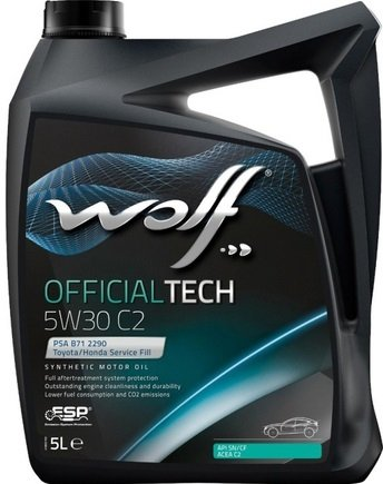Wolf OFFICIALTECH 5W-30 C2 5 л