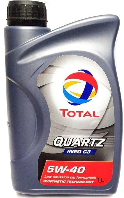 Total Quartz Ineo C3 5W-40-1 л