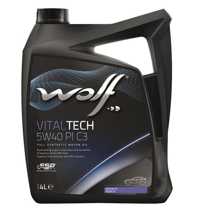 Wolf VITALTECH 5W-40 PI C3 4 л