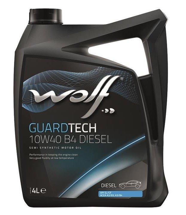 Wolf GUARDTECH 10W-40 B4 DIESEL  5 л