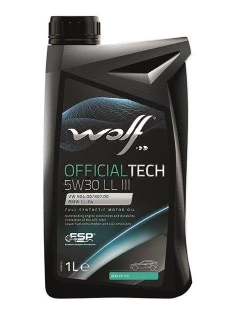 Wolf OFFICIALTECH 5W-30 LL III-1 л