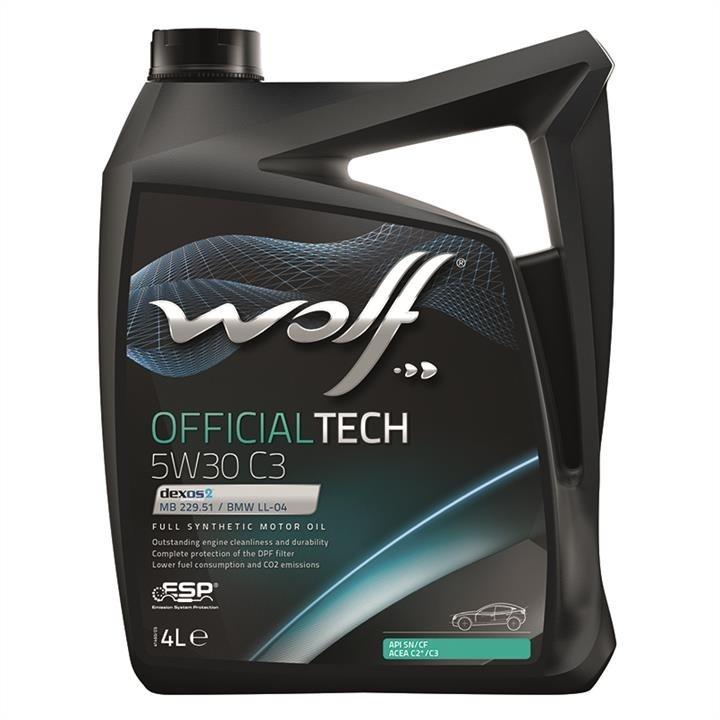 Wolf  OFFICIALTECH 5W-30 C3 4 4 л