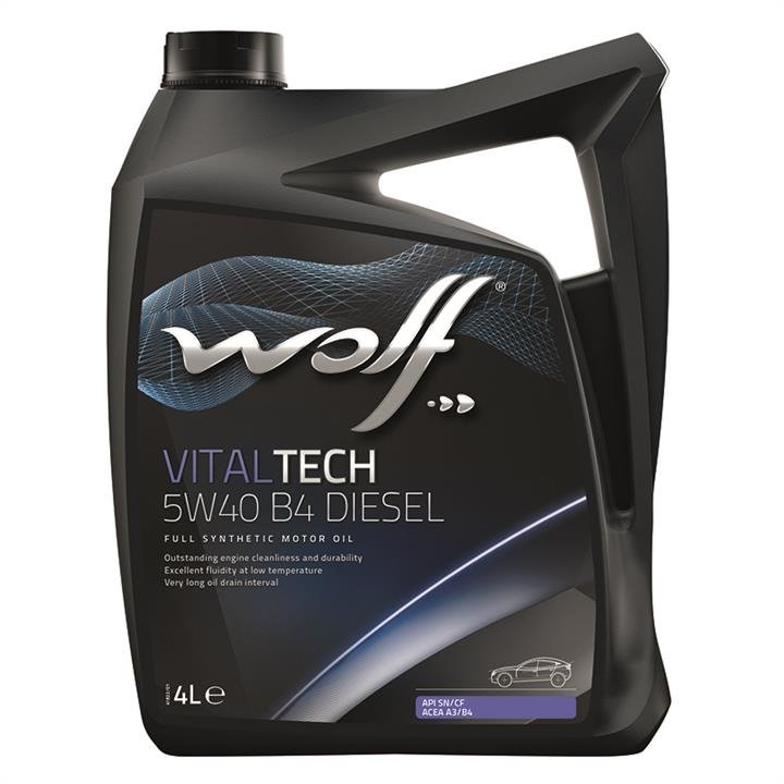 Wolf  VITALTECH 5W-40 B4 DIESEL 4 л