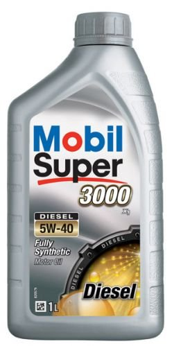 Mobil Super 3000 Diesel 5w-40 4 л