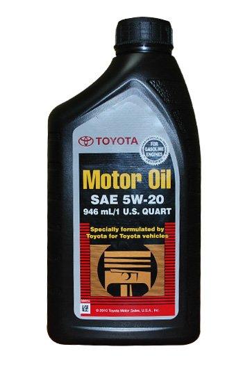 Toyota Motor Oil 5w-20 (USA) 1л