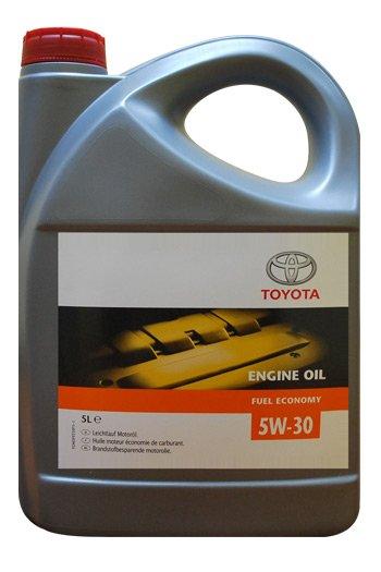 Toyota Fuel Economy Motor Oil 5w-30 5л