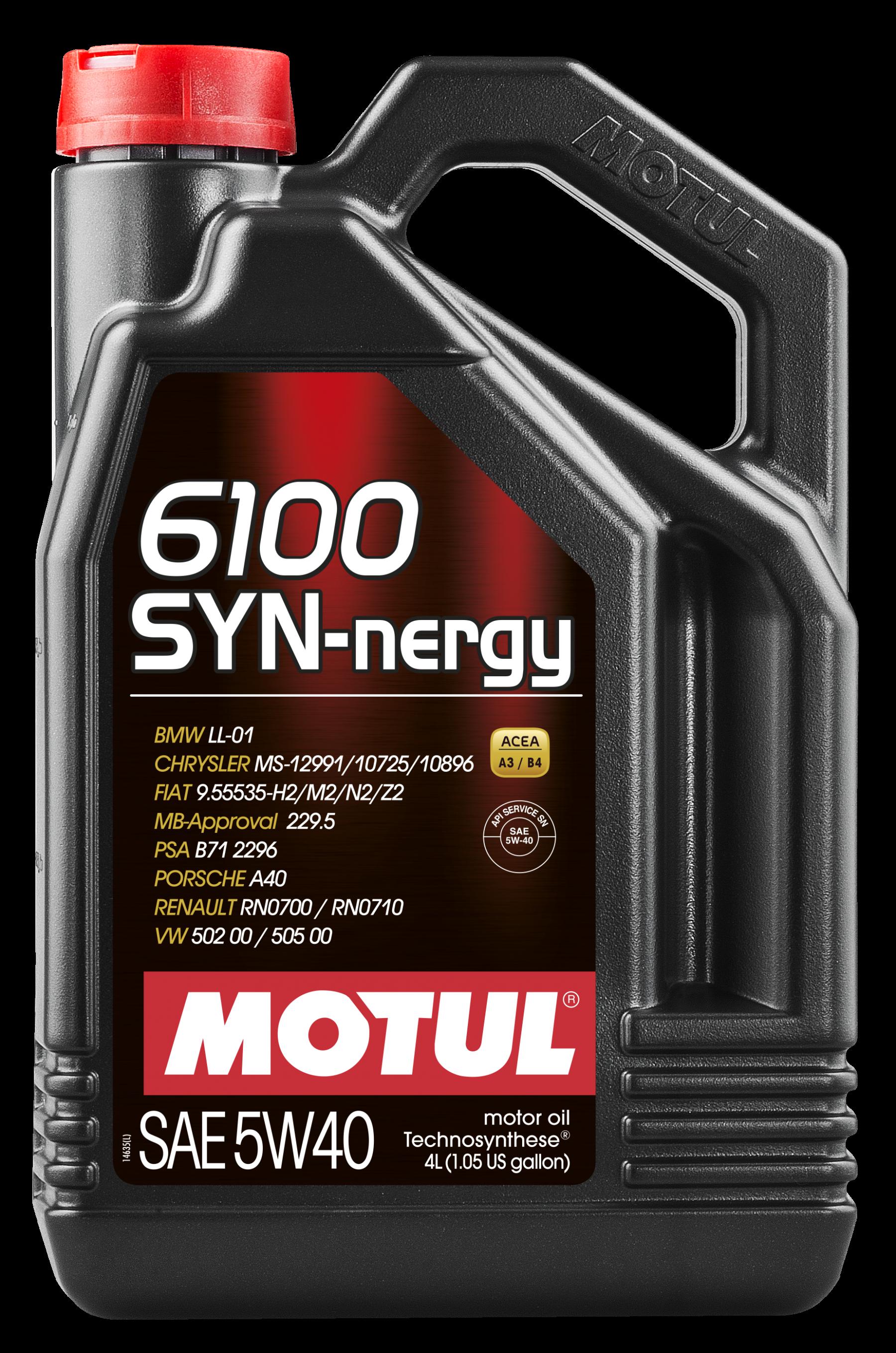 Motul 6100 Syn-nergy 5w-40