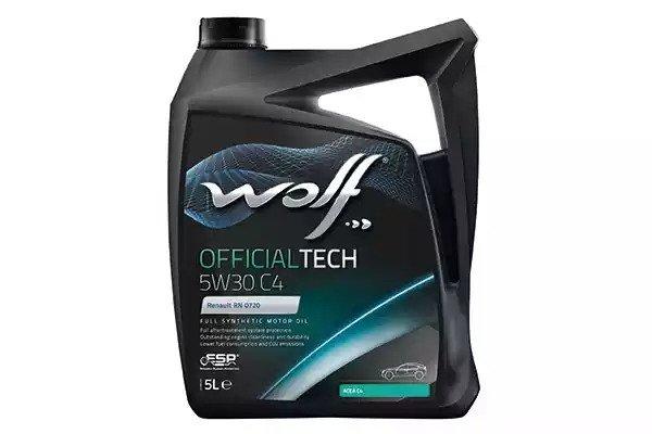 Wolf OFFICIALTECH 5W-30 C4 4 л