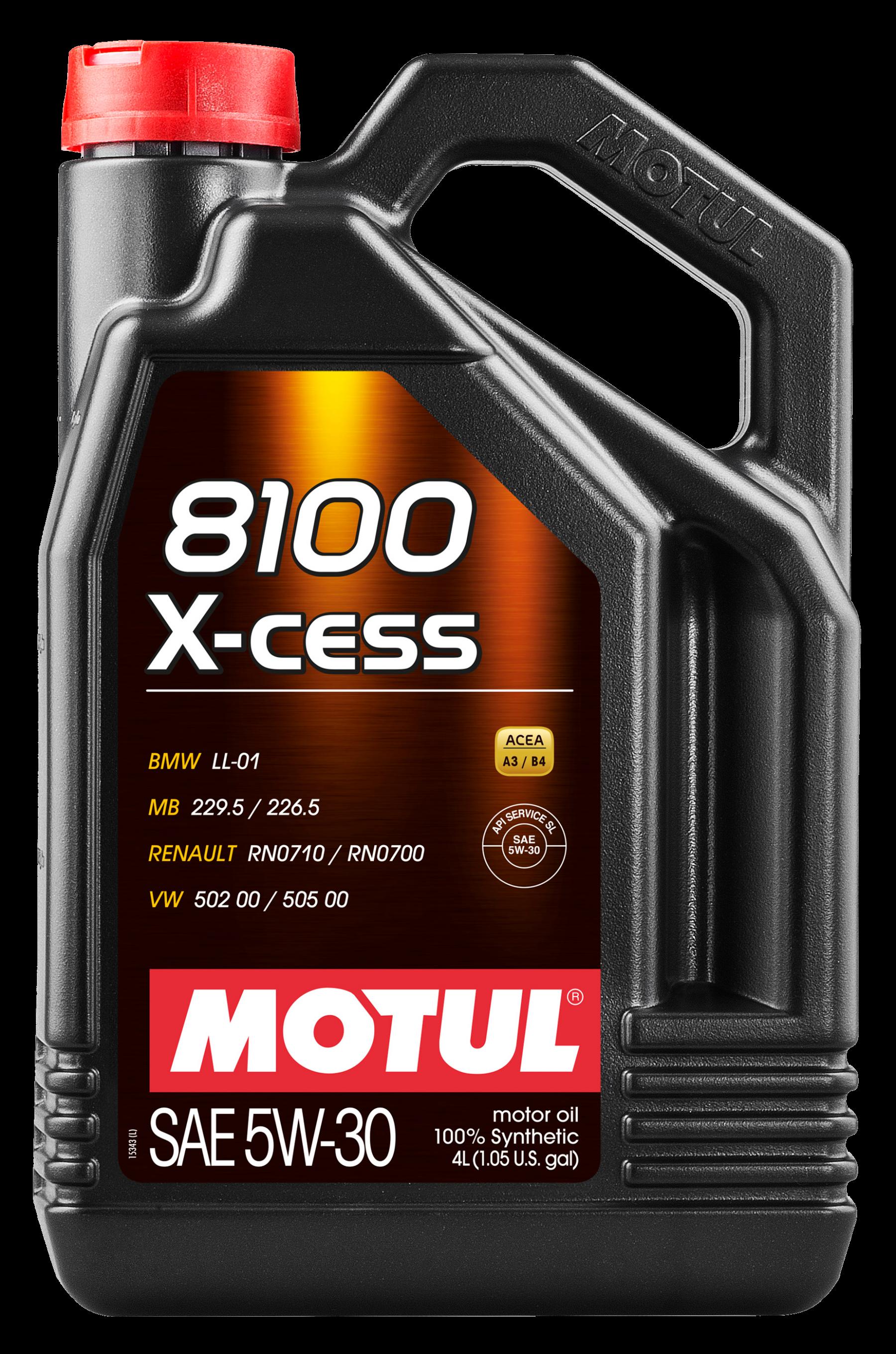 Motul 8100  X-cess 5w-30