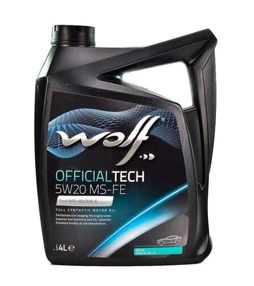 Wolf OFFICIALTECH 5W-20 MS-FE 4 л